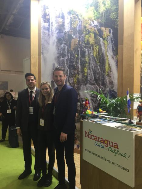 Meeting the Nicaragua Tourist Board at WTM 2018