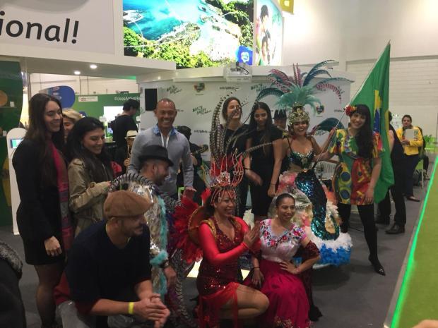 Brazil's dance performance at WTM 2018