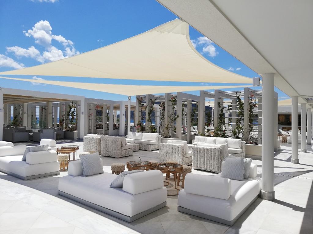 Bar at Ikos Aria, Kos | ItinerWord Blog