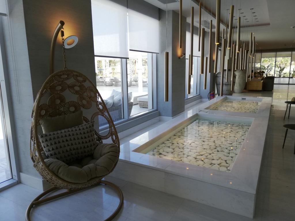 Lobby at Ikos Aria, Kos | ItinerWord Blog