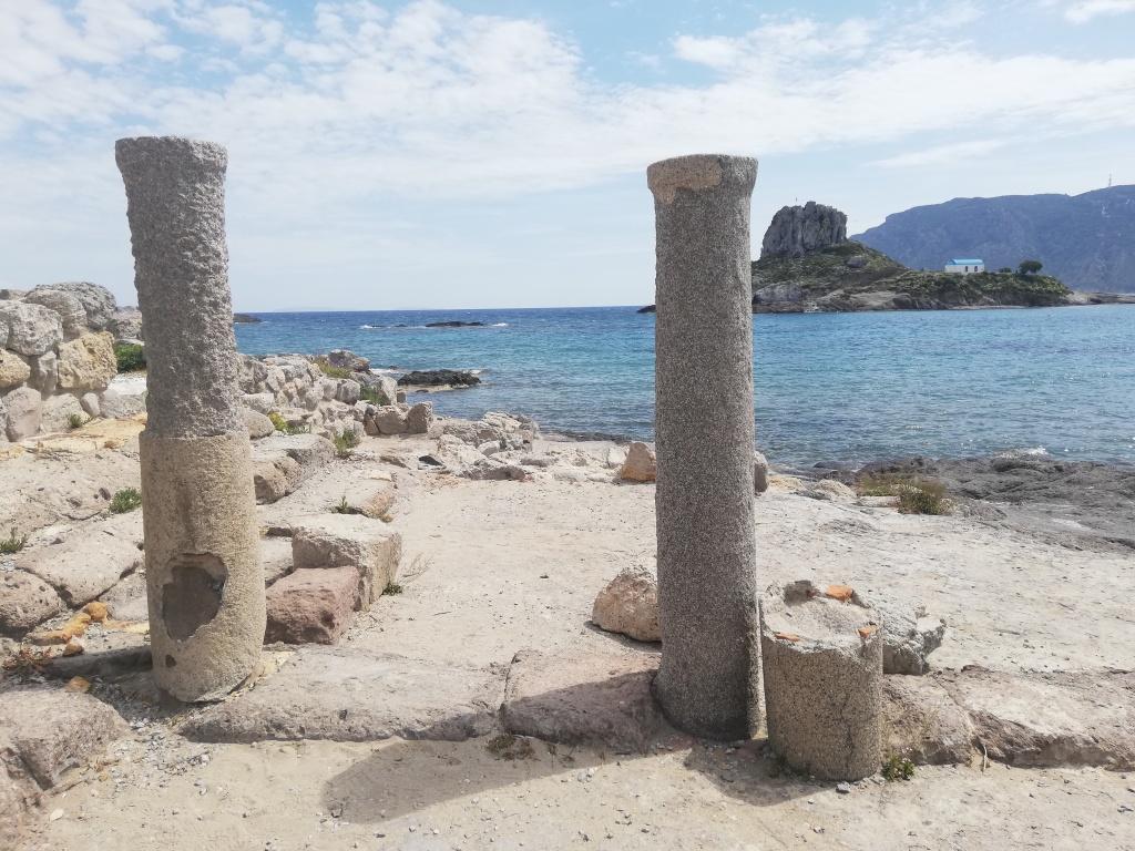 Archaeological site at Ikos Aria, Kos | ItinerWord Blog