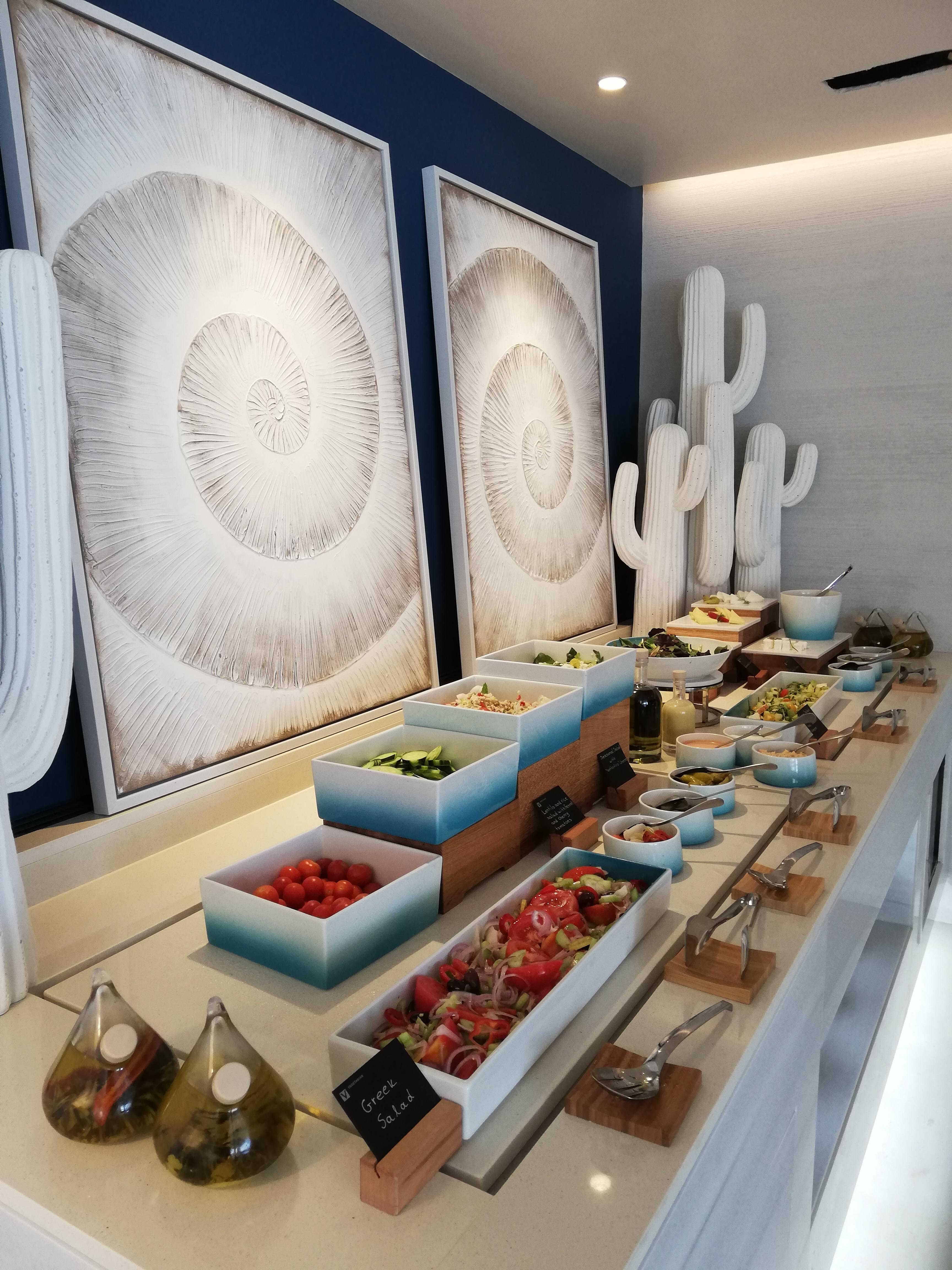 Greek buffet at Ikos Aria, Kos | ItinerWord Blog