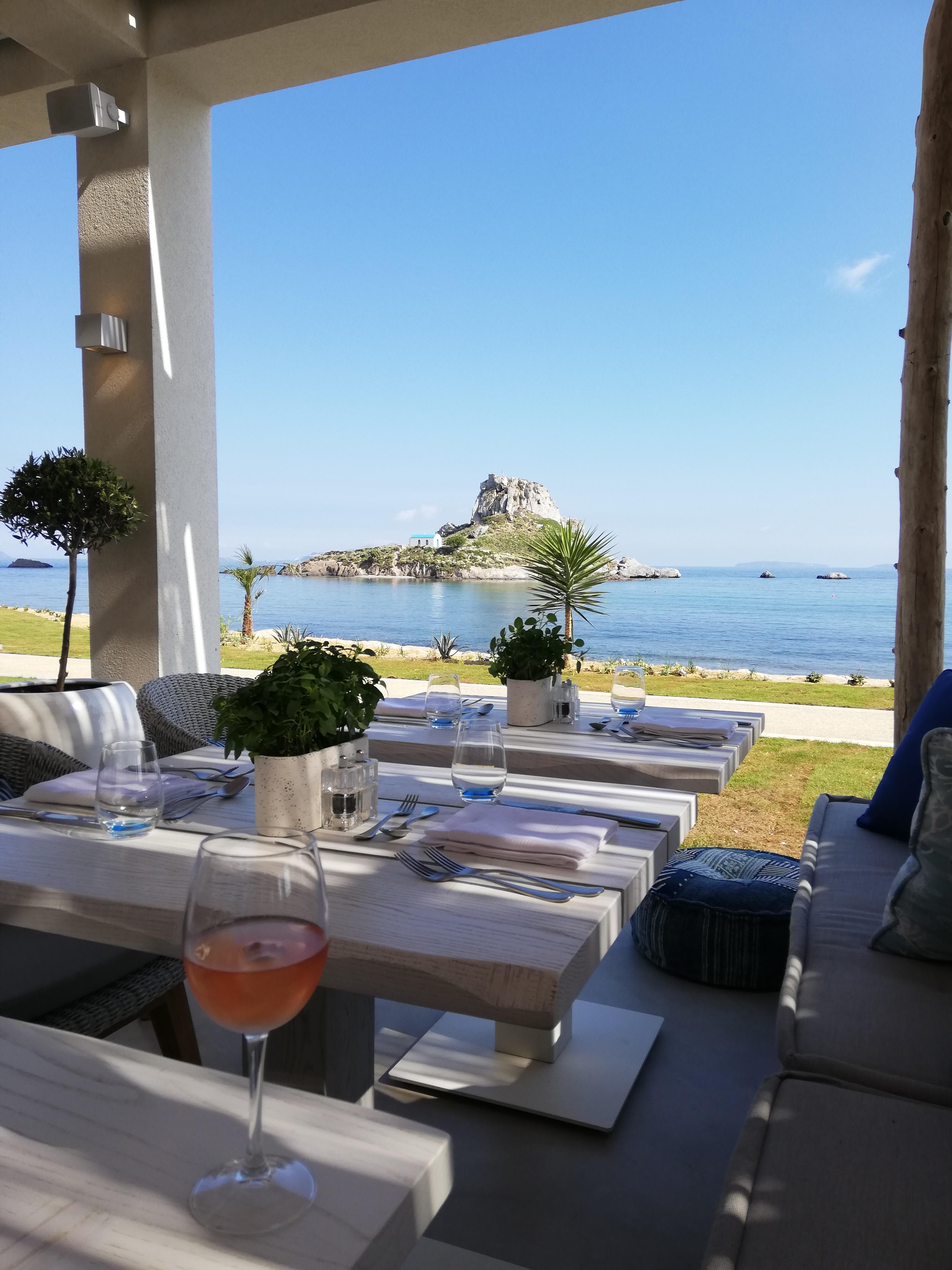 Ouzo Restaurant at Ikos Aria, Kos | ItinerWord Blog