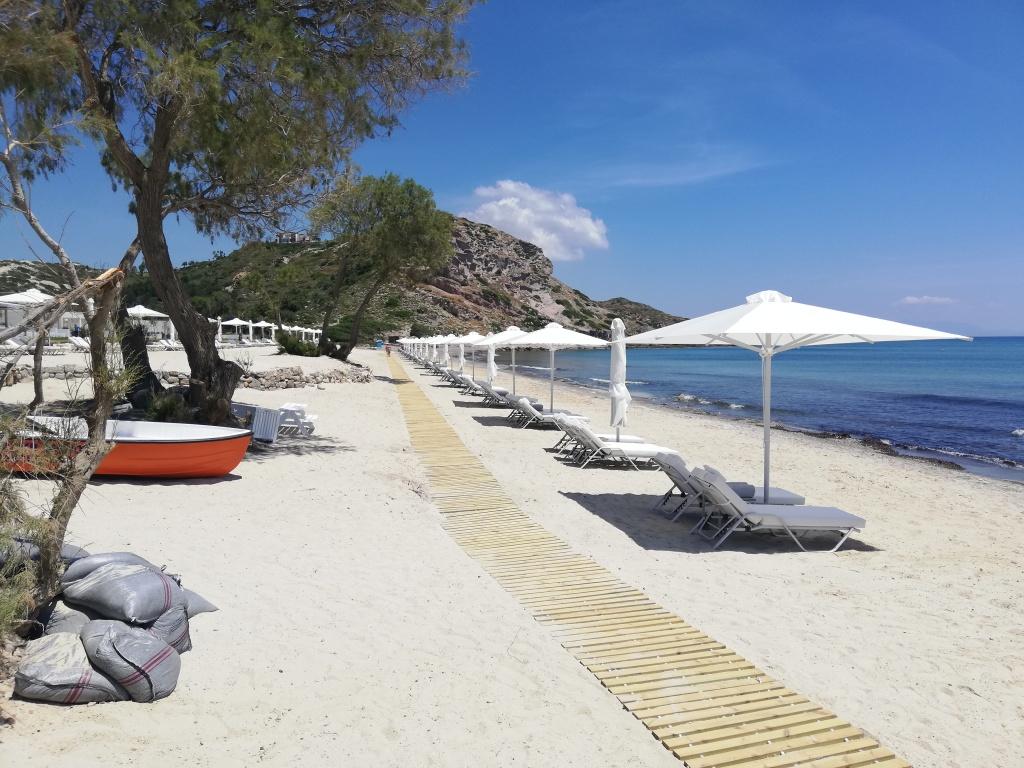 Beach at Ikos Aria, Kos | ItinerWord Blog